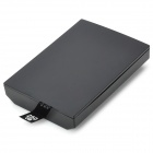 "Portable 2.5"" HDD Enclosure Case for Xbox 360 Slim - Black"