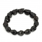 Super Cool Skull Pattern Bracelet - Black