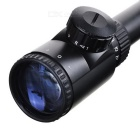 6~24*50 GD Zooming Reflex Laser Sight Rifle Scope with Gun Mount (Red + Green Laser Configurable)