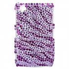 Protective Crystal Case for Blackberry 8520 / 8530 - Purple