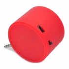 Fashion Surround Sound Mobile Speaker for Iphone - Red (3.5mm Jack)