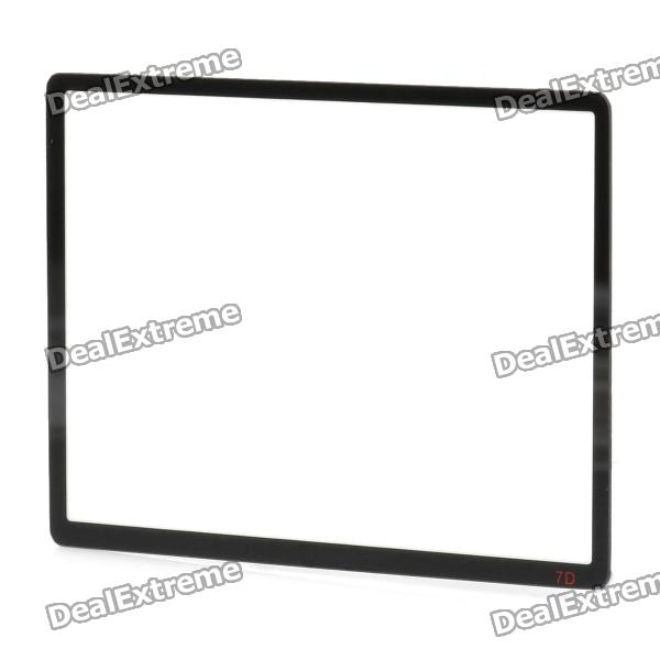 Professional Optical Glass Camera LCD Screen Protector Cover for Canon 7D