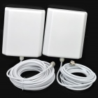 GSM Cell Phone Mobile Phone Signal Repeater Booster Amplifier Kit - Silver
