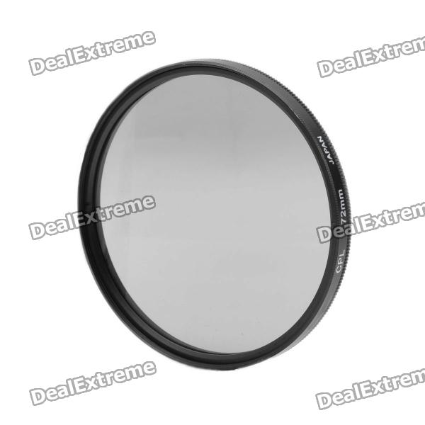 CPL Circular Polarizer Lens Filter for Canon (72mm) benro 72mm cpl filter shd cpl hd ulca wmc slim filters waterproof anti oil anti scratch circular polarizer filter free shipping