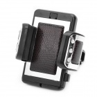 Plastic Holder Stand for Cell Phone - Black (5~9.5cm Adjustable Width)