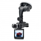 "2.0"" 720P 5MP Dual Camera Car DVR with Night Vision/Circulating Record/Motion Detection"