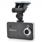 "2.7"" Full HD 1080P Car DVR 5MP CMOS W/G-sensor/Circulating Recording/Motion Detection/HDMI - Black"