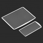 Professional Optical Glass Camera LCD Screen Protector Cover for Nikon D300 / D300S