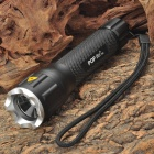POP Lite Cree XR-E WC-Q5 180LM 4-Mode White Light LED Flashlight w/ AC Charger Bike Mount (1x18650)