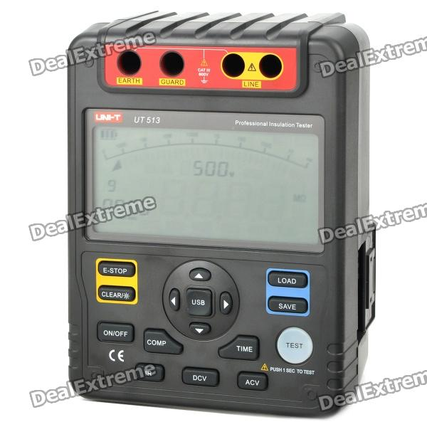 "UNI-T UT513 5.2"" LCD Insulation Resistance Test Instrument (8*LR14)"
