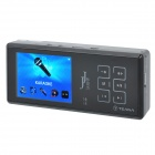 "TEANA ISING 2.4"" TFT LCD MP3 Player Karaoke Speaker w/ TF / 3.5mm Audio Jack - Black"
