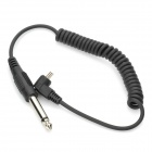 Flash PC to 6.5mm Jack Sync Cable (80CM)