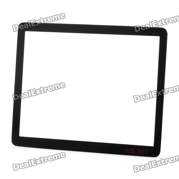 Professional Optical Glass Camera LCD Screen Protector Cover for Canon 5D II