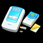 2W 32-Melody Wireless Doorbell Transmitter/Receiver Set - White + Blue (1 x 23A 12V / AC 220-240V)