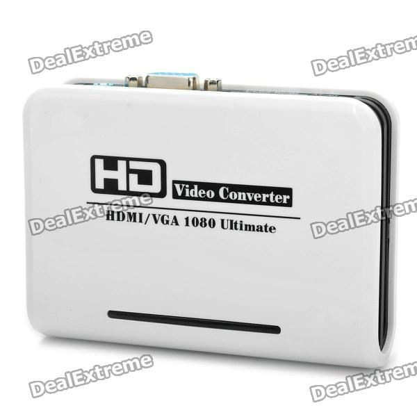 HDMI to VGA AV Converter - White rs232 to rs485 converter with optical isolation passive interface protection