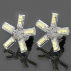 3157 20x5050 SMD LED 260 ~ 280lm 6000 ~ 6500K Auto weißes Licht Lampen (Paar)