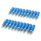 DIY Audio Speaker Binding Post Terminal - Blue (20-Piece Pack)
