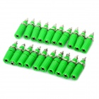 DIY Binding Post Terminals - Green (20-Piece Pack)