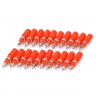 Cable Terminals Connectors - Red (20-Pack)