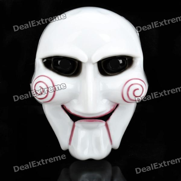 The Saw Plastic Cosplay Mask - White