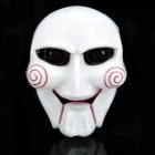 Die Saw Plastic Cosplay Mask - White