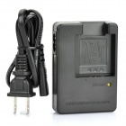 Designer's BC-60L Battery Charger for Casio NP-60 Camera Battery (AC 100~240V / 2-Flat-Pin Plug)