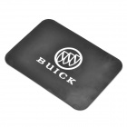 Silicone Vehicle Anti-Slip Mat with Buick Logo - Black + White