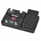 "Genuine MOOER GEM Box LE 1.1"" LED Guitar Multi-Effects Processor w/ Expression Pedal - Black"