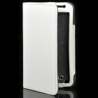 Protective PU Leather Case for Samsung i9220 - White