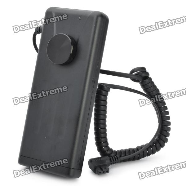 External Flash Battery Pack for Canon Flashgun 580EX II / EX 550 + More - Black (8 x AA)