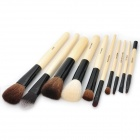 Designer's Professional Cosmetic Makeup Brush Kits (10-Piece)
