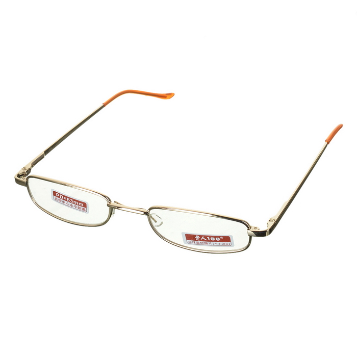 Classy Alloy Framed Presbyopia Reading Glasses with Protective Case (+1.00) classy alloy framed presbyopia reading glasses with protective case 2 50