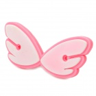 Cute Angel Design Cable Cord Holder Wire Winder - Pink + White