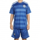 Chelsea Football Team Jersey Shirt & Shorts Set - Blue + White (Size L)
