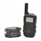 "1.3"" LCD Remote Pet Training Collar - Black"