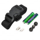 Pet Dog Bark Stop Training Collar Receiver Set for 4-in-1 Remote Controller - Black (2 x AAA)
