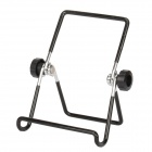 "Portable Folding Angle Adjustable Metal Stand Holder for Samsung Galaxy P1000 / 7"" Tablet - Black"