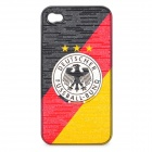 UEFA Euro 2012 National Football Team Badge Protective ABS Back Case for iPhone 4 / 4S - Germany