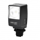 Rechargeable 3.5W 160LM 6500K White LED Video Light for Sony Digital Camera DSLR - Black
