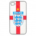 UEFA Euro 2012 National Football Team Badge Protective ABS Back Case for iPhone 4 / 4S - England