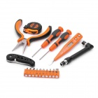 PICASSO PS-E002 18-in-1 Voltage Tester + Screwdriver + Tape + Pliers + Knife Tools Kit