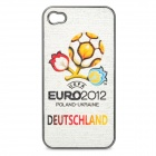 UEFA Euro 2012 Official Logo Protective ABS Back Case for iPhone 4 / 4S - Germany