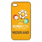 UEFA Euro 2012 Official Logo Protective ABS Back Case for iPhone 4 / 4S - Netherlands