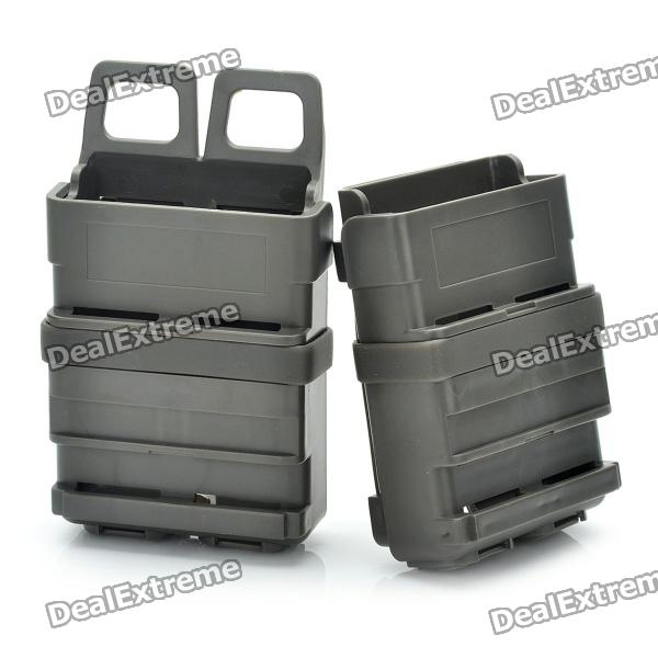 Fast Attach Mag Magazine Pouches - Army Green (Third-Generation /Pair)
