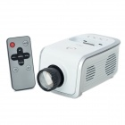 Portable 40LM LED Projector for iPhone / iPod - White