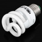 E27 8W 6500K White Light Screw Type Energy Saving Lamp (AC 220V)