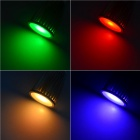 GU10 3W Multi-Colored Light 1-LED Cup Lâmpada w / Controle Remoto (85 ~ 265V)
