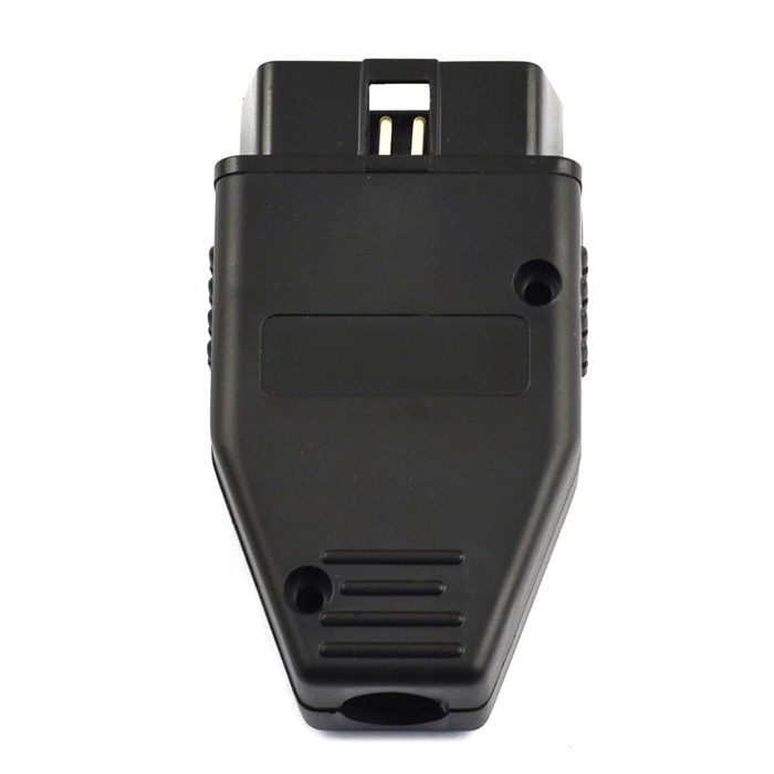 OBD2 16-Pin Connector Car Diagnostic Male Cable - Black