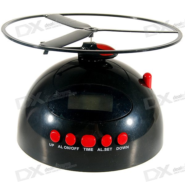 Flying Helicopter Alarm Clock