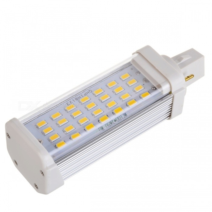 G24 8W 28x5630 LED 520-620LM 3000-3200K Warm White Light Lamp (85~265V)